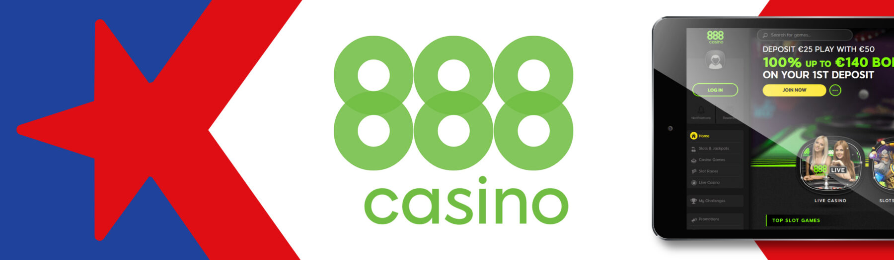 Bonos Casino en 888 Casino Chile